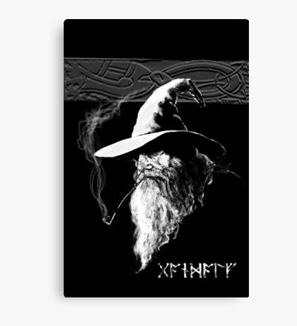 Dark Wizard Canvas Print
