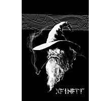 Dark Wizard Photographic Print