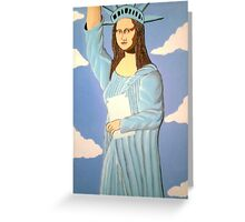 THE STATUE OF LIBERTY 2000 Greeting Card