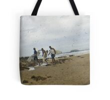 after the waves Tote Bag