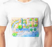 garden by the sea Unisex T-Shirt