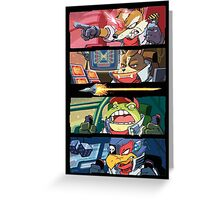 Star Muppets Fox Greeting Card