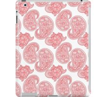 The Red Paisley iPad Case/Skin