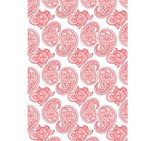 The Red Paisley Photographic Print