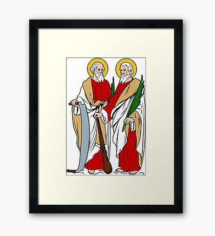 SAINTS SIMON AND JUDE   Framed Print