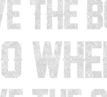 Biker - Two Wheels Move The Soul Sticker