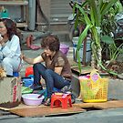 Street Lunch by phil decocco