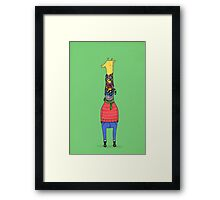 Scarf Lover Framed Print