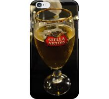 Beer glass iPhone Case/Skin