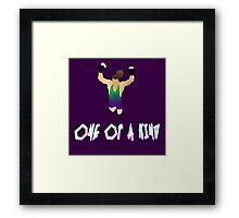 One of a KIND! | Rob Van Dam Framed Print