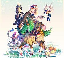 Pokemon X & Y - New Start by mmishee-art