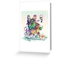 Pokemon X & Y - New Start Greeting Card