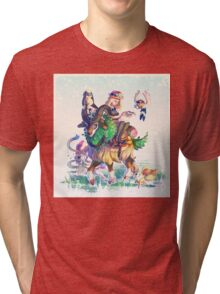Pokemon X & Y - New Start Tri-blend T-Shirt