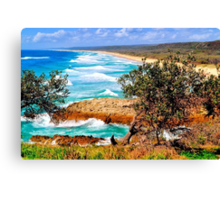 NORTH STRADBROKE ISLAND Canvas Print