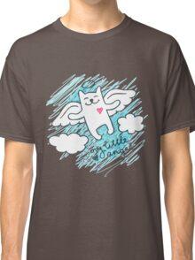 hand drawn cat angel Classic T-Shirt