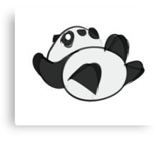 Tumbling Panda Bear Canvas Print