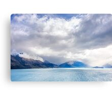 Clouds Descend the Tooth Peaks (near Glenorchy, NZ) Metal Print