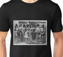Performing Arts Posters Hurly Burly Extravaganza and Refined Vaudeville 2729 Unisex T-Shirt