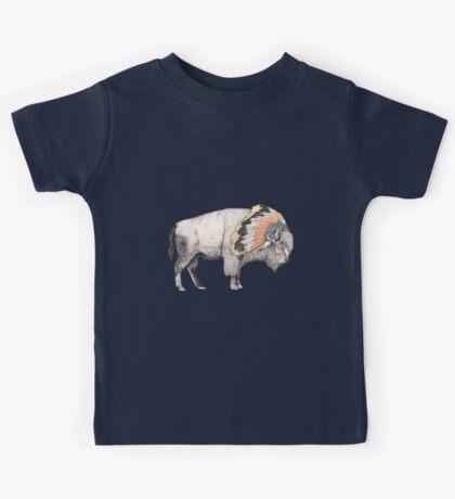 White Bison Kids Tee