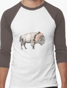 White Bison Men's Baseball ¾ T-Shirt