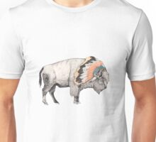 White Bison Unisex T-Shirt