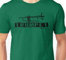 Label Me A Trumpet (Black Lettering) Unisex T-Shirt