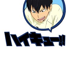 Haikyuu!! - Karasuno - Kageyama Tobio by TrashCat