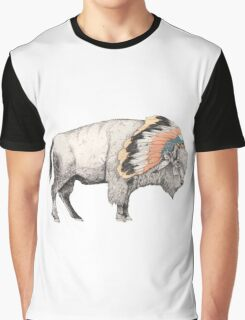 White Bison Graphic T-Shirt
