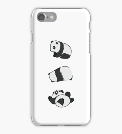 Tumbling Panda Bears (SET) iPhone Case/Skin