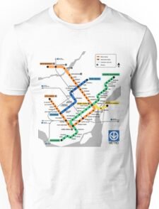 STM Montreal Metro - light background Unisex T-Shirt