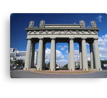 View of the Moscow Triumphal Arch in St. Petersburg Canvas Print