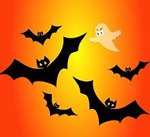 Bats and a Ghost by Susan S. Kline