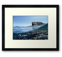 Batu Bolong Framed Print