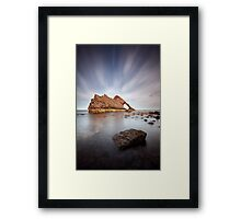 Bow Fiddle Long Exposure Framed Print