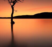 Loch Lomond Afterglow Sticker