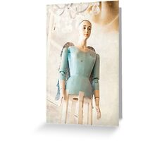 Distressed Angel Greeting Card