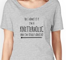 knitterholic Women's Relaxed Fit T-Shirt