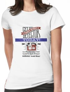 The Timey-Wimey Detector Womens Fitted T-Shirt