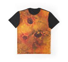 Autumn Sunflowers Play Graphic T-Shirt