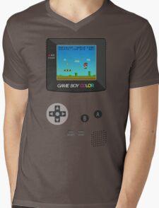 Retro Nintendo Game Boy Super Mario  Mens V-Neck T-Shirt