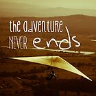 The Adventure Never Ends by Rhana Griffin