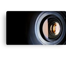 Photo Lens Canvas Print