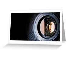 Photo Lens Greeting Card