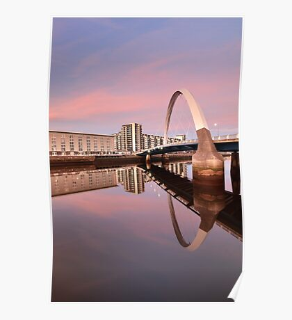 Sunset over the Clyde Poster