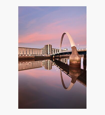 Sunset over the Clyde Photographic Print