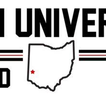 Miami University of Ohio  Sticker