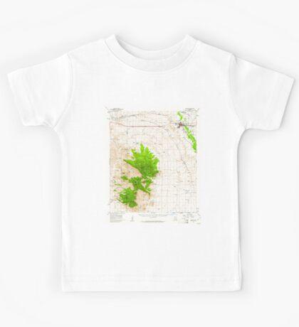 USGS TOPO Map Arizona AZ Benson 314361 1958 62500 Kids Tee