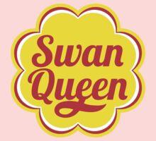 Swan Queen - Chupa Chups Logo Baby Tee