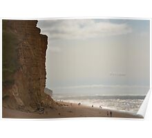 """ Walkers At West Bay "" Poster"