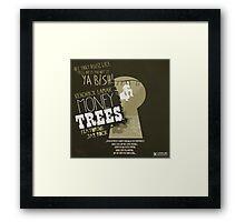 kendrick lamar money trees Framed Print